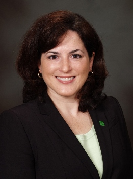 Angela Barone, new Estate Settlement Manager at TD Wealth in Philadelphia.
