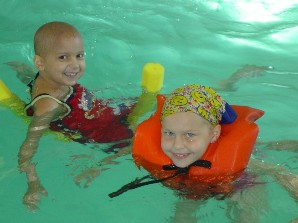 Camp Sunshine provides a Maine camp vacation at no charge to children with life-threatening illnesses and their families.