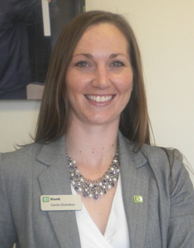 has seven years of retail banking experience. She joined TD Bank ...