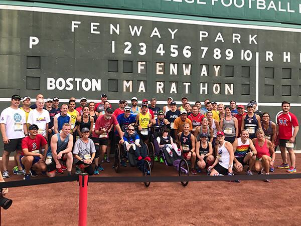 Fenway Marathon Start