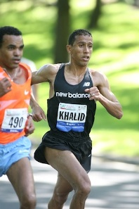 Khalid Khannouchi of the USA will use the TD Bank Beach to Beacon 10K as a tune up heading into a fall marathon.