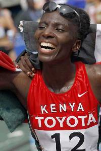Catherine Ndereba of Kenya is returning to the TD Bank Beach to Beacon 10K for the first time since 2004. She has won the race five times.